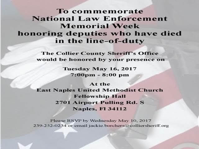 Honoring Deputies Killed in the Line-of-Duty