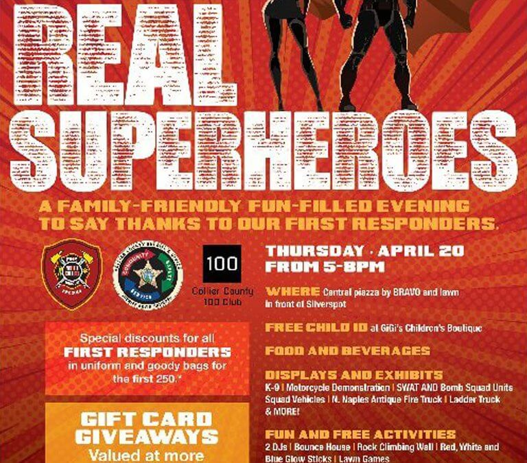 Upcoming Real Superheroes Event at Mercato on April 20th